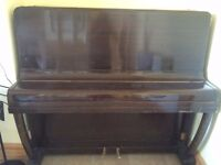 Free Spencer Upright Piano and double piano stool