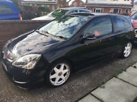 Honda Civic type 'R', 2004, 95k miles, excellent condition for year and only two owners from new.
