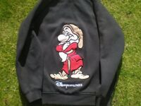 "DISNEYLAND PARIS HOODIE ""GRUMPY"" !! FREE DELIVERY IN LOCAL AREA !!"