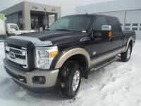 2012 Ford F-350 KING-RANCH * 4X4 * DIESEL * FULL* GARANTIE FULL