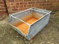 Large Reclaimed Galvanised Planter