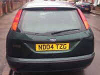 2004 FORD FOCUS AUTOMATIC RUN AND DRIVE WITH LOW MILEAGE 62K