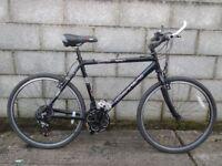 mens bike black carrera 26''