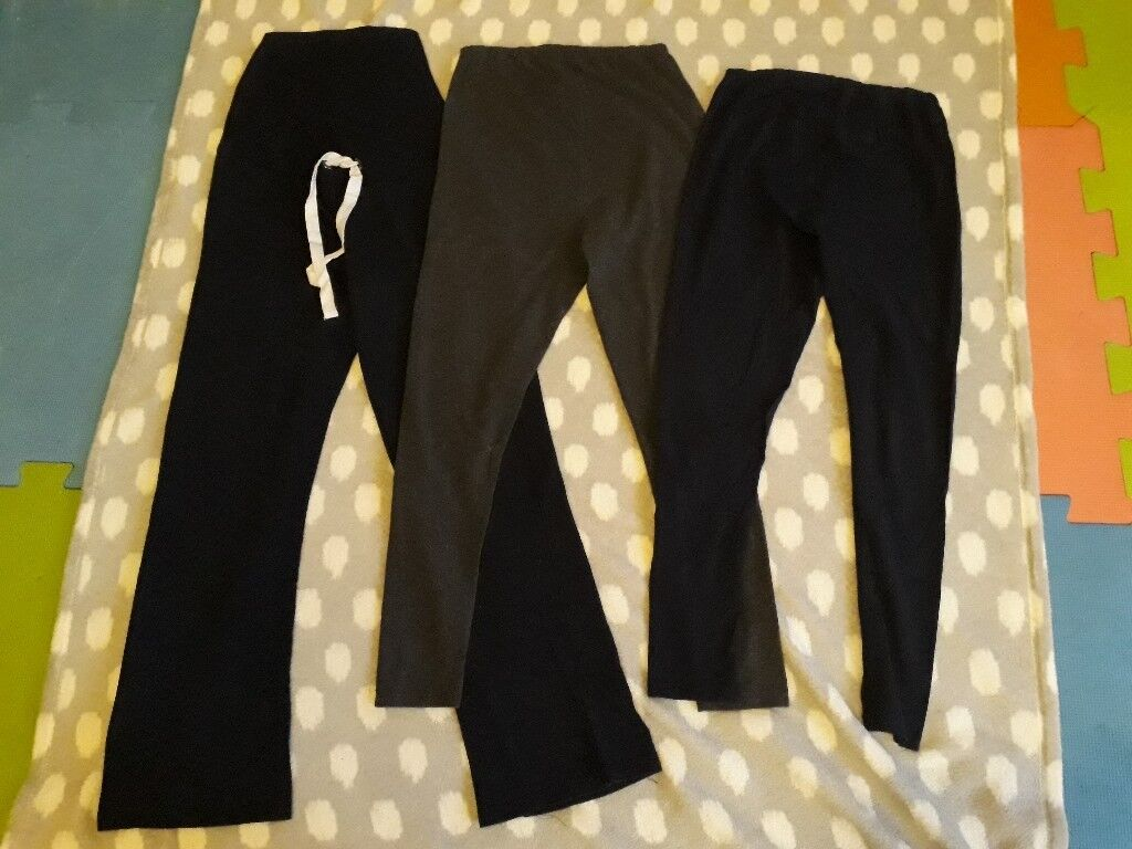 7bea75f15fb02 Maternity comfy joggers and leggings bundle - over bump - size 10 | in ...