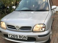 Low mileage Nissan Micra