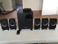 Speakers 5.1 Creative, Logitech adapter Bluetooth
