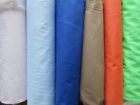Fabric SALE materials plain cotton haberdashery crafts making sewing supplies