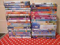 44 CHILDREN'S DVDS - £18 THE LOT