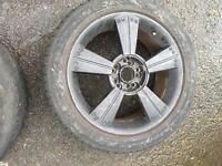 """16"""" black alloy wheels"""