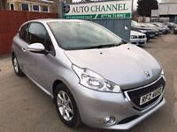 Peugeot 208 1.0 VTi Active 3dr£4,485 p/x welcome 1 YEAR FREE WARRANTY. NEW MOT