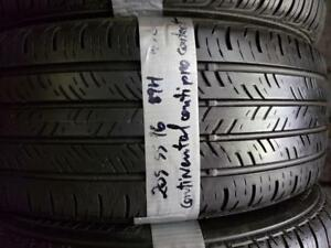 1 summer tire continental contiprocontact 205/55r16