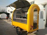 Catering Trailer Burger Van Hot Dog Ice Cream Sweets Coffee Cart New Design