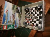 lego chess set in top condition in box with instructions