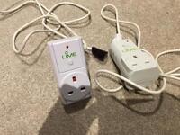 2x Energy Saving Plugs