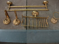 Gold Coloured Bathroom Fittings for sale