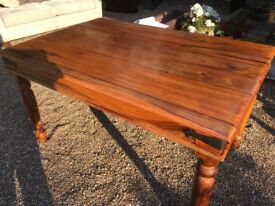 Solid Wood Table - American Hardwood