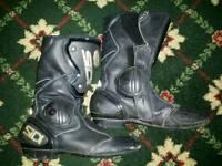 Sidi motor bike riding boots