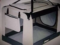 Large Folding Dog Bed/box