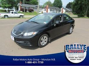 2013 Honda Civic LX! Heated! Keyless! ONLY 19K!