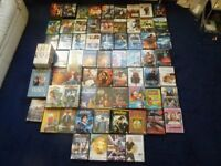 65 DVD movies including box sets and double disc editions Harry Potter 24 Underworld Will And Grace