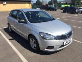 2010 Kia Cee'd Hatchback Automatic - 5 door - Silver - Full Service History - HPI Clear