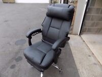 NICE QUALITY OFFICE CHAIR. USED 4 TIMES. SLIGHT FAULT BUT EASILY FIXED. BARGAIN