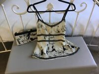Camisole Top with Matching Handbag - By Whistles Size 8/10
