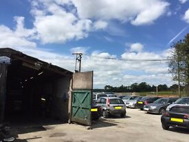A LARGE UNIT WORKSHOP GARAGE CAR SALES SPACE AVAILABLE IN THE OXFORD AREA READY FOR WORK