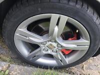 Seat ibiza fr , golf , Audi , skoda alloys