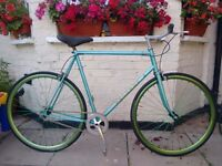 Custom built Peugeot Singlespeed/Fixie bike