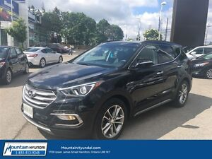 2017 Hyundai Santa Fe Sport Limited|Nav|Leather|Panoramic Sunroo