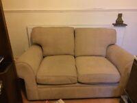Cream corduroy sofa