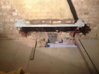 Chimney breast removal , gallows brackets / steel support , Refurbishment , Kitchens , Bathrooms.