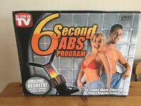 6 seconds ab - gym equipment