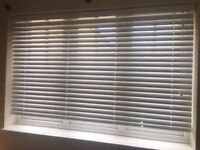 Cotton White - Venetian blind brand new 106 x 100