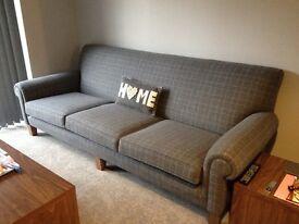 Handmade Upholstered Coilsprung Sofa