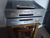 Roksan kandy hifi amp and cd player