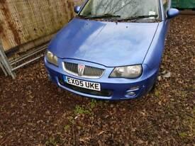 Rover 25 breaking