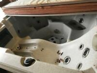 Hot tub spa project spares or repaired with TV and speakers