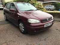 2004 VAUXHALL ASTRA CLUB 1.6 PETROL 8V RED DECENT CONDITION BARGAIN!!