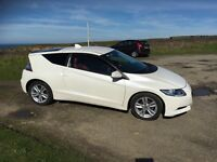 Excellent condition Honda CRZ with full red leather interior