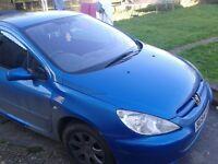 Peugeot 307. MOT September