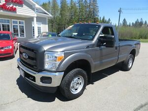 2013 Ford F-250 XL 4X4 REG CAB 8FT BOX!
