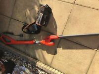 Flymo Sabre Hedge Trimmer- Cordless with battery back pack