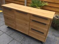 Furniture Village - Unmarked Oak Sideboard - Brand New.
