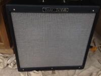 Fender Hotrod Deville, 2 x 12 amp, mint condition, comes with original cover and foot switch