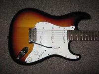 statocaster guitar by vintage v6 reissed series