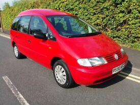 V.W Sharon 1.9 Tdi Automatic Disabled Access