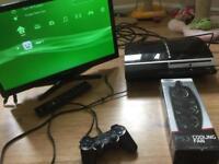 PS3 + TV + Games