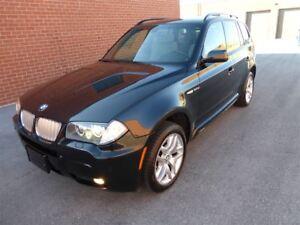 2007 BMW X3 3.0SI -- M SPORTS PKG -- NAVIGATION